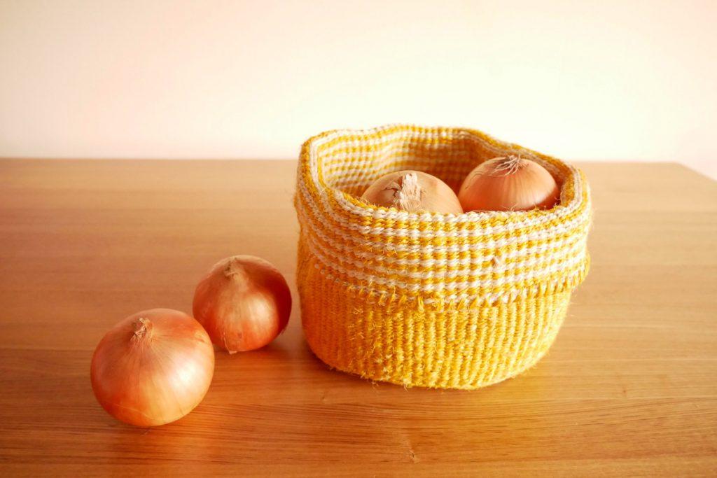 常温保存の野菜を状態よく置いておける