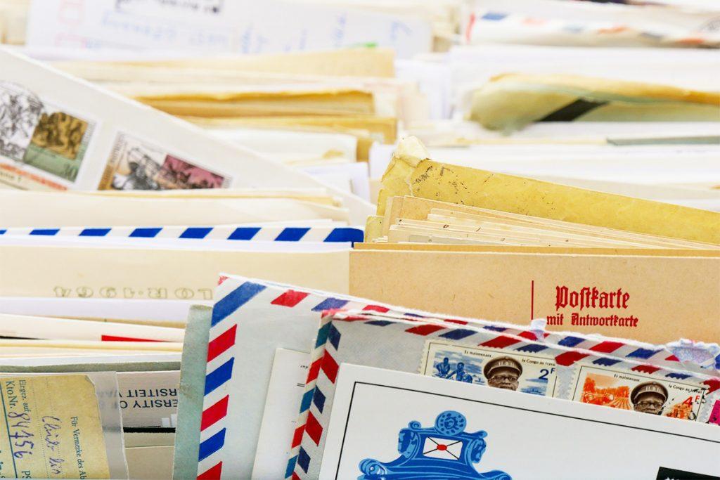 手紙収納の悩み