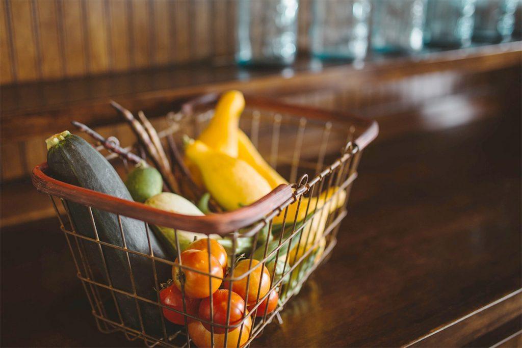 素材で選ぶ野菜収納